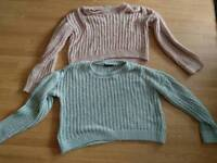 2 Size 12-14 jumpers both £4