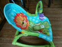Fisher price rocker from baby to toddler
