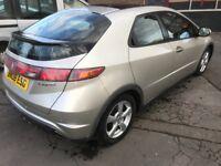 Honda Civic 2.2 i-CTDi ES 5dr SIX SPEED Panoramic sunroof