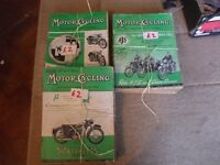 MOTOR CYCLING MAGAZINE 24 ISSUES