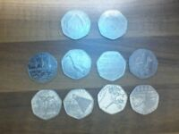 50p collection