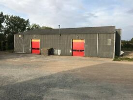 2 warehouses to let or can be combined into 1, both are 5900sq ft, total 11805, eaves height 8metres