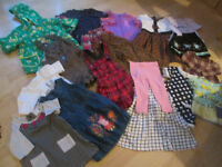 SELECTION OF FGIRLS CLOTHES