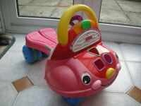 Fisher price ABC/123 Walker Bear (Excellent Condition)