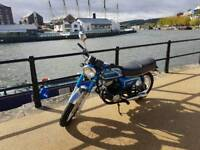 Vintage Honda Motorbike