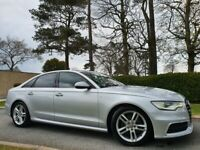 Apr 2013 Audi A6 2.0 TDI S Line 4dr GREAT EXAMPLE, HEATED SEATS, SATNAV, FULL AUDI S/H, FULL MOT