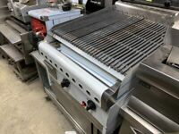 COMMERCIAL CATERING KITCHEN 2 BURNER NEW GAS KEBAB BBQ PERI PERI CHICKEN GRILL