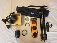Nikon D7000 with 18-200mm Sigma Lens, Tripod & Extras - View Ad