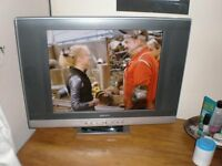 TV, MOGEN, FREEVIEW, 19 inch, twin speakers.