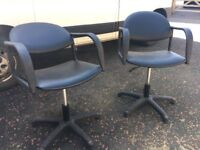Hairdressers chairs