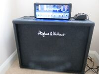 Hughes & Kettner TM18+FS-2 footswitch & CC212 cab-WILL SPLIT