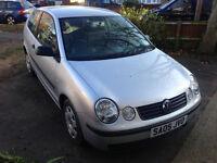 VW POLO 1.2 2005 3 DOOR HATCHBACK