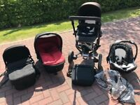 Concord Neo Baby Travel System (car seat, two carrycots, buggy seat)