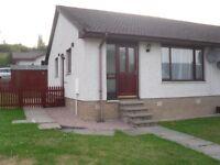 Alness 2 bedroom bungalow to rent