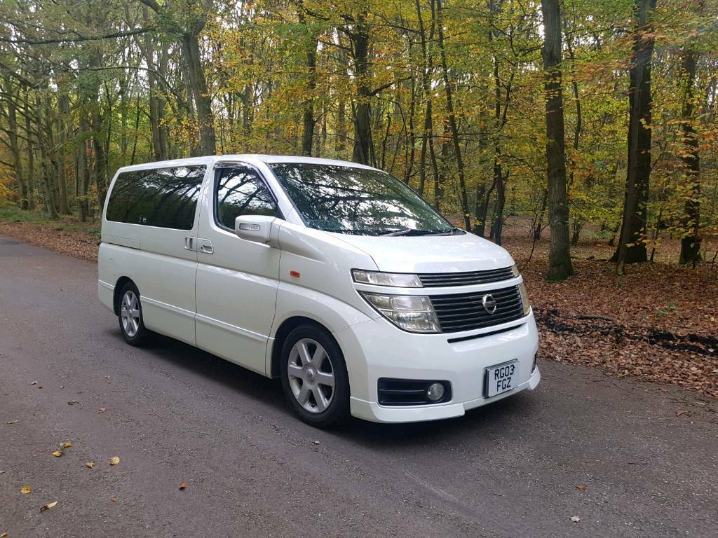 2003 NISSAN ELGRAND 35 V6 HIGHWAY STAR Ideal Camper Van Conversion