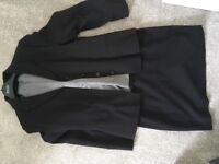 Ladies Black Next Suit, Size 14