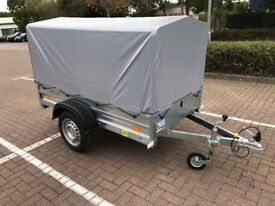 Brand new car box trailer
