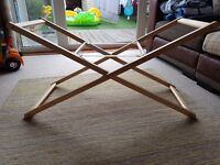 Mothercare Wooden Moses Basket Stand