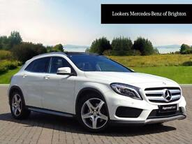 Mercedes-Benz GLA Class GLA220 CDI 4MATIC AMG LINE PREMIUM PLUS (white) 2014-07-31