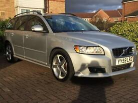Volvo v50 nice and clean car recently serviced 59 Reg Estate 85000miles Manual 2.0L Diesel