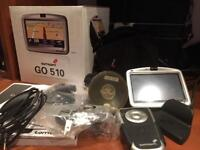 Tom Tom Go 510 Sat Nav, Car charger, Home/PC dock charger, remote plus more!