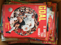 Goal magazine editions from 1969 and 1970