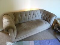House Move forces sale - 3-seater Chesterfield style sofa