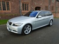 2006 BMW 320D M SPORT TOURING 2.0L DIESEL MANUAL IMMACULATE CONDITION VERY LOW MILEAGE 88,000 MILES