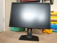 Dell u2412m 24 inch 1080p adjustable IPS monitor