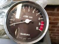 Suzuki X7 250cc rev counter
