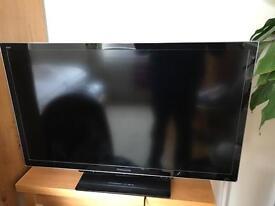 "PANASONIC VIERA 37"" LED 3D TV"