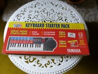 Young Yamaha Keyboard Starter Pack - Ages 5-11