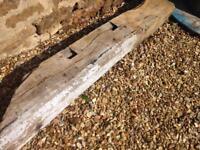 Old oak beam