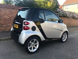 Smart FORTWO COUPE FULL HEATED LEATHERS + AUX + START STOP + PANO ROOF + £20 ROAD TAX