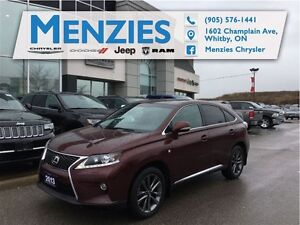 2013 Lexus RX 350 F Sport, AWD, Bluetooth, GPS, Clean Carproof