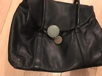 Black Leather Radley handbag