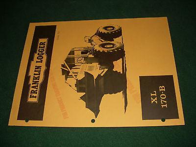 Frankin Logger 170 B Xl Winch Skidder Brochure Original