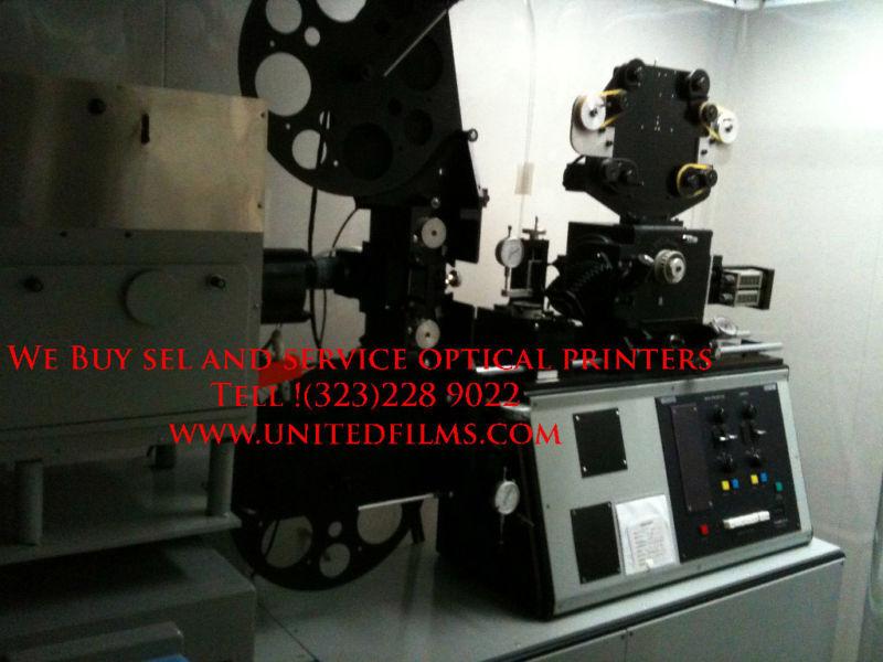 Oxbery optical printer 35/16mm 4k film scanner upgrade