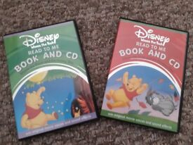 Two Winnie the Pooh read to me book & CDs