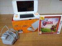 New model Nintendo 2ds xl + zelda ocarina of time game