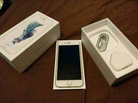 *MINT Apple iPhone 6S. Vodafone lebara 16gb, Silver boxed charger fully working
