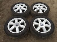 """Set of 4 ford Mondeo / focus / transit connect 16"""" alloy wheels"""