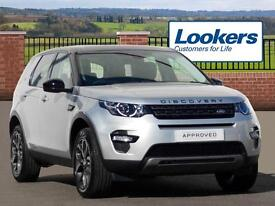 Land Rover Discovery Sport TD4 SE TECH (silver) 2016-09-26