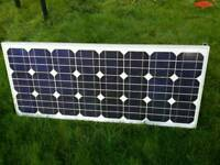 60w pv solar panel with charge controller