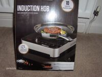 induction hob new and boxed unopened