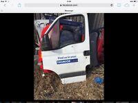 Vauxhall movano NSF door complete