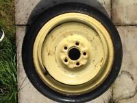 Mitsubishi spare wheel