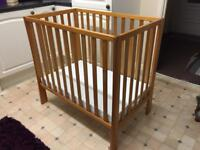 Cot with New Mattress - Delivery available