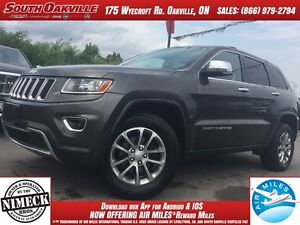 2014 Jeep Grand Cherokee Limited   BLUETOOTH   HEATED LEATHER  
