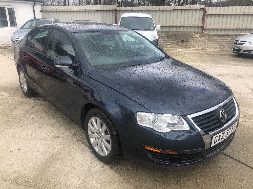 2006 Volkswagen Vw Passat M1 9tdi Blue Saloon Manual